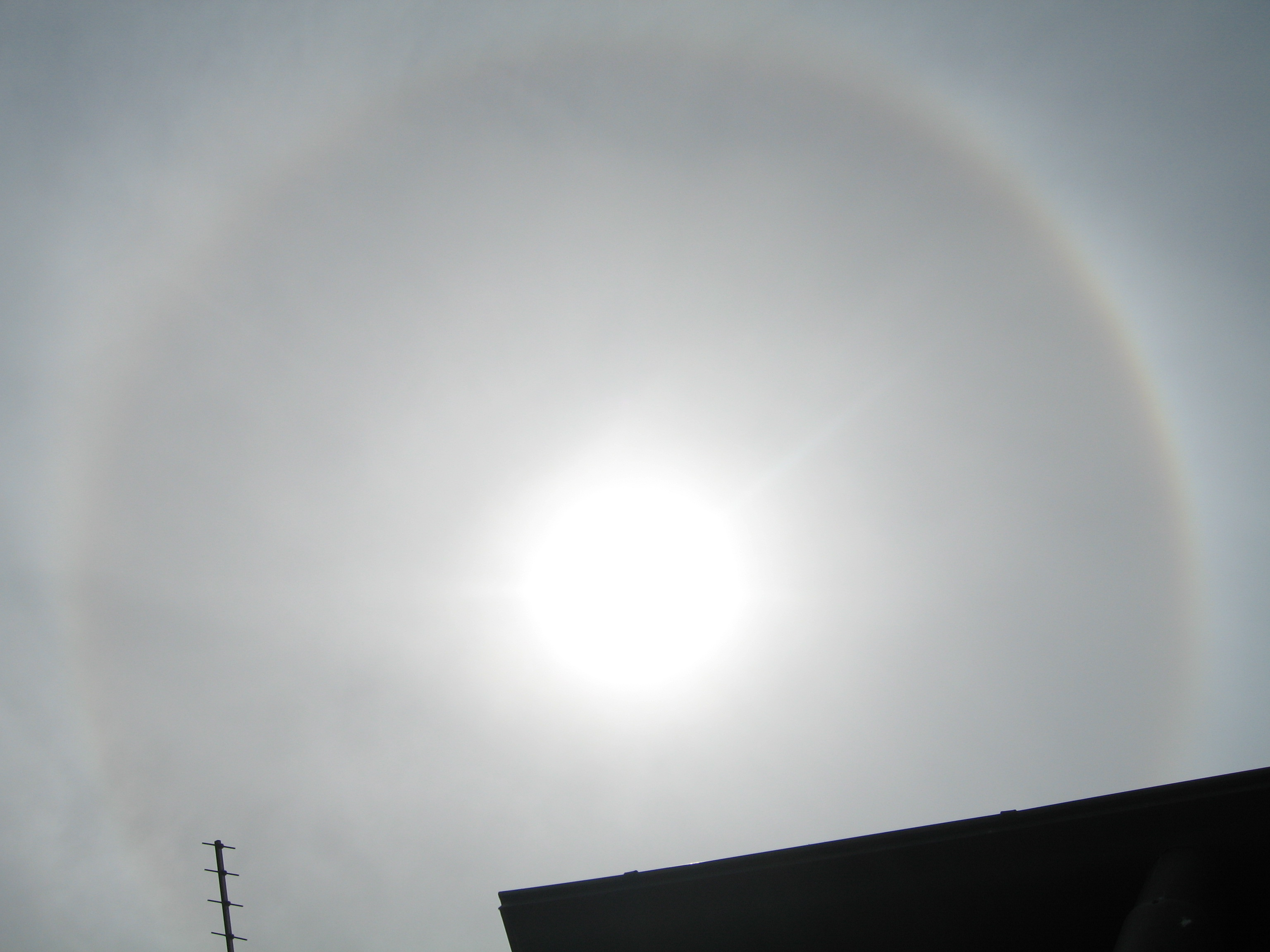 Sonne mit Umkreis