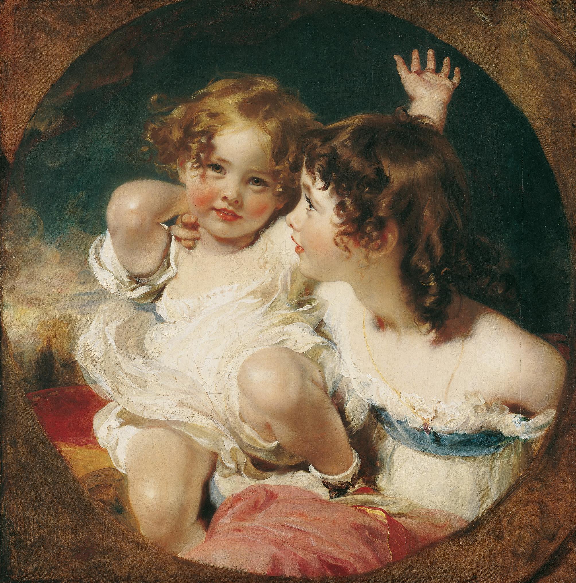 Die Entdeckung der Kindheit. Das englische Kinderporträt und seine europäische Nachfolge
