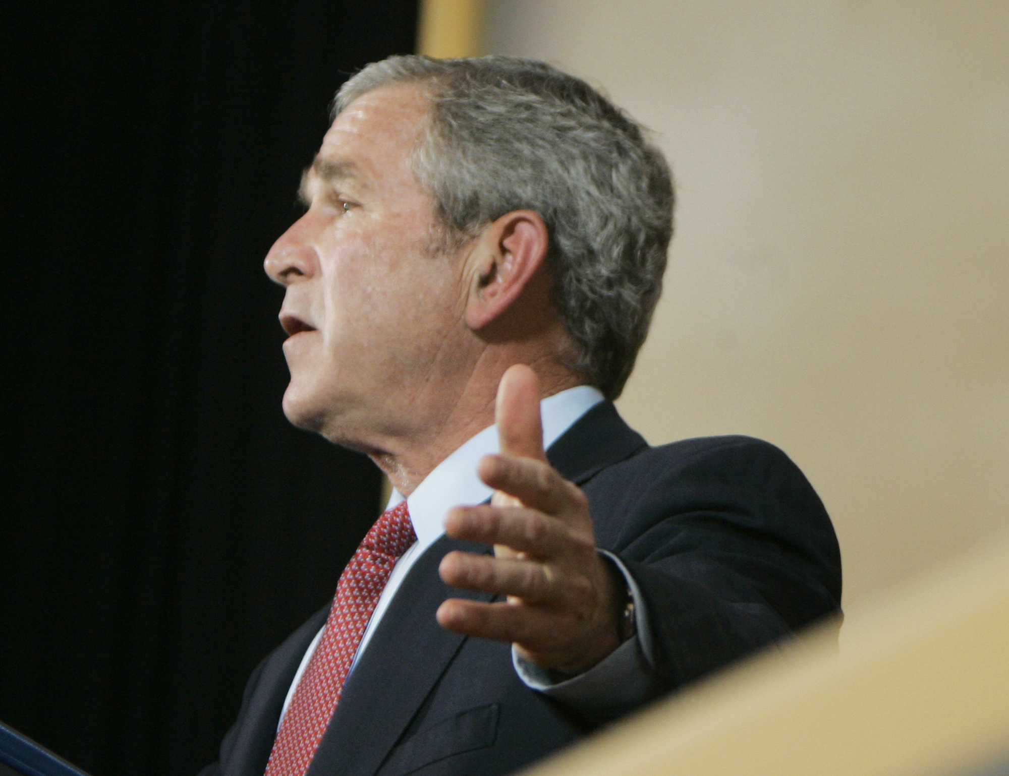 Die Rhetorik des Mr. Bush