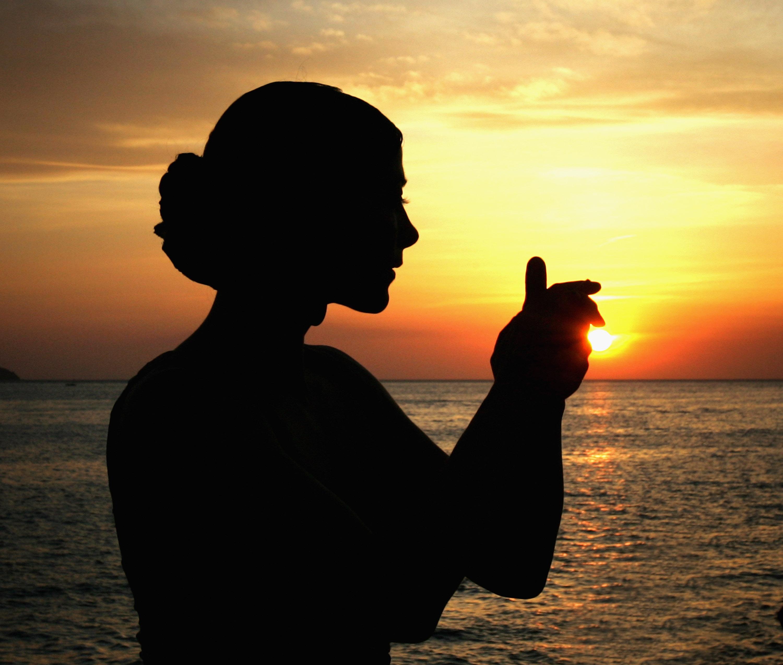Tänzerin der Abendsonne