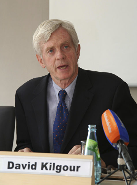 David Kilgour, ehemaliger kanadischer Parlamentsabgeordneter, Staatssekretär und Staatsanwalt. (Foto: Nina Hamrle)
