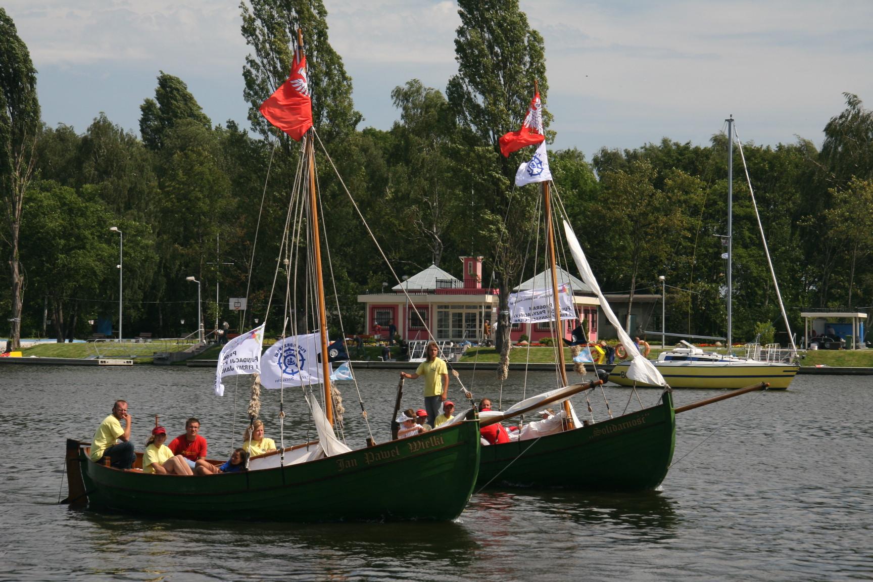 Im Windschatten der Großen – ein Segelprojekt für Jugendliche
