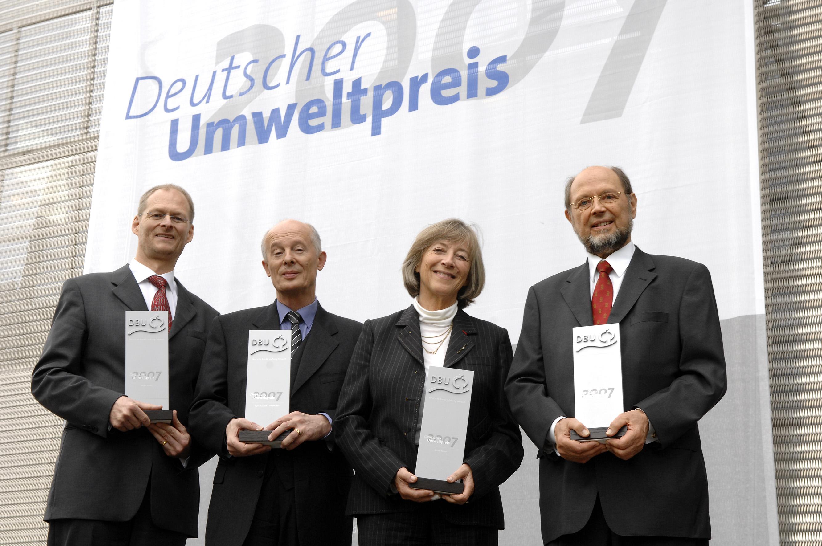 Verleihung des Deutschen Umweltpreises