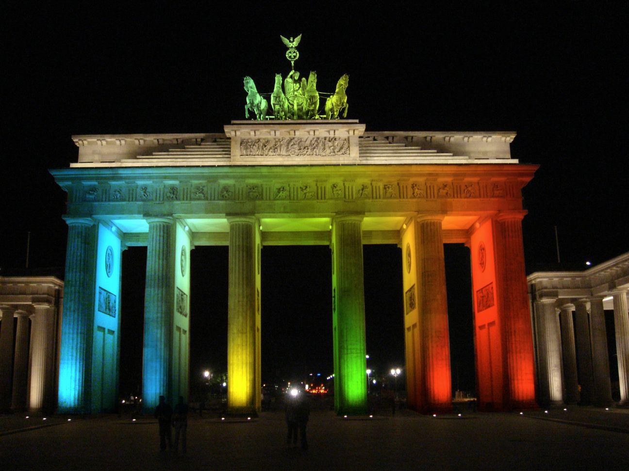 Das Berliner Lichtspektakel beginnt