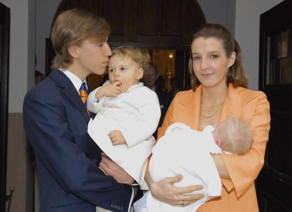 Junge Prinzenfamilie