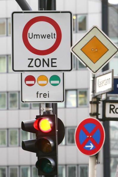 """Verkehrszeichen """"Umweltzone"""""""