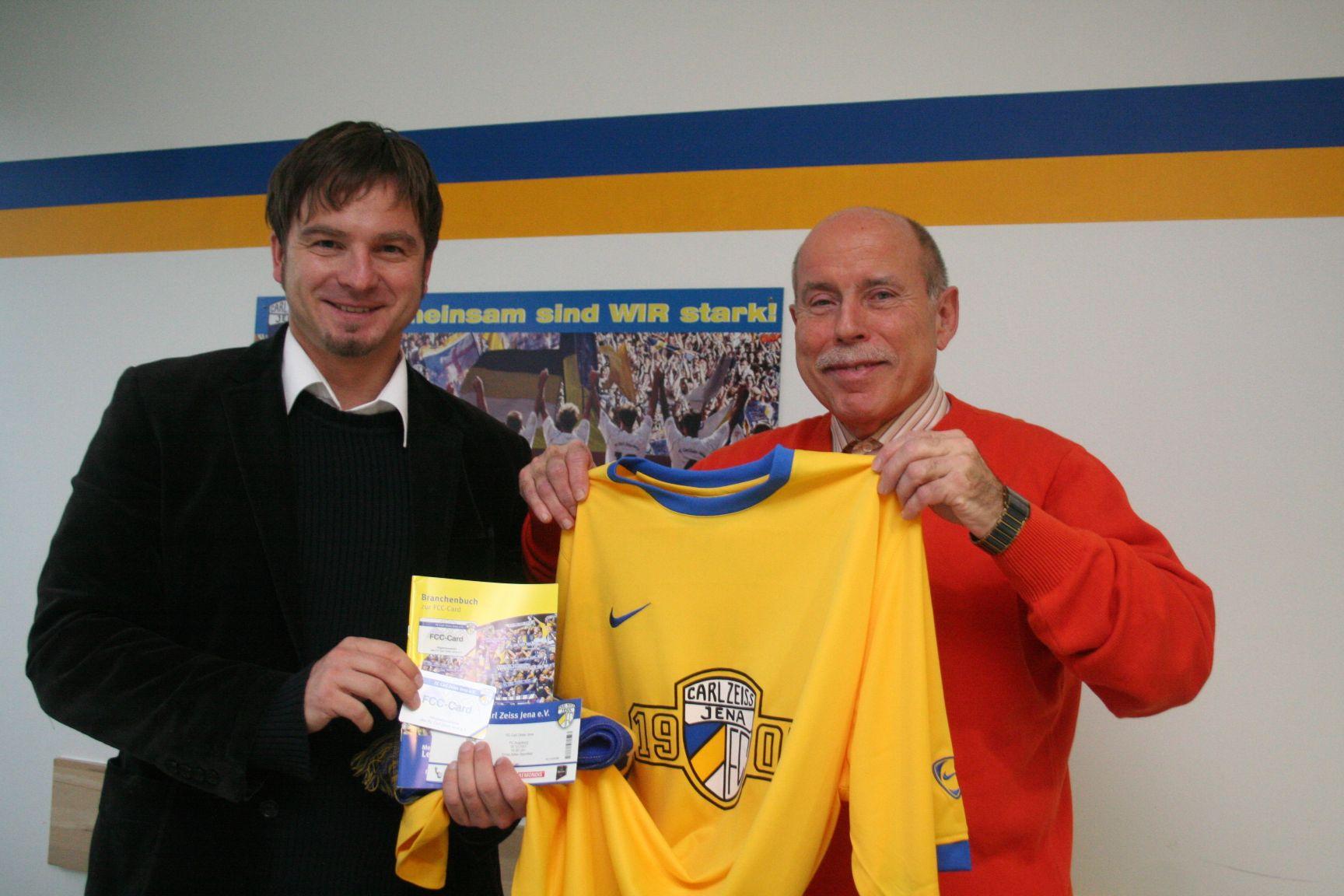 FC Carl Zeiss Jena begrüßt sein 3000. Mitglied