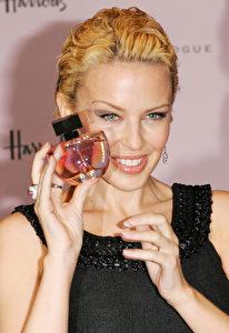 Parfüm-Fee Kylie Minogue. (