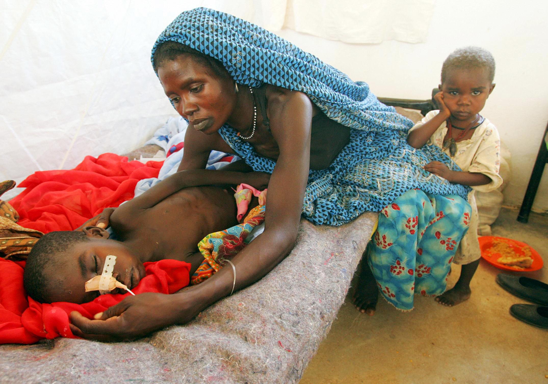Moskitonetze für Afrika