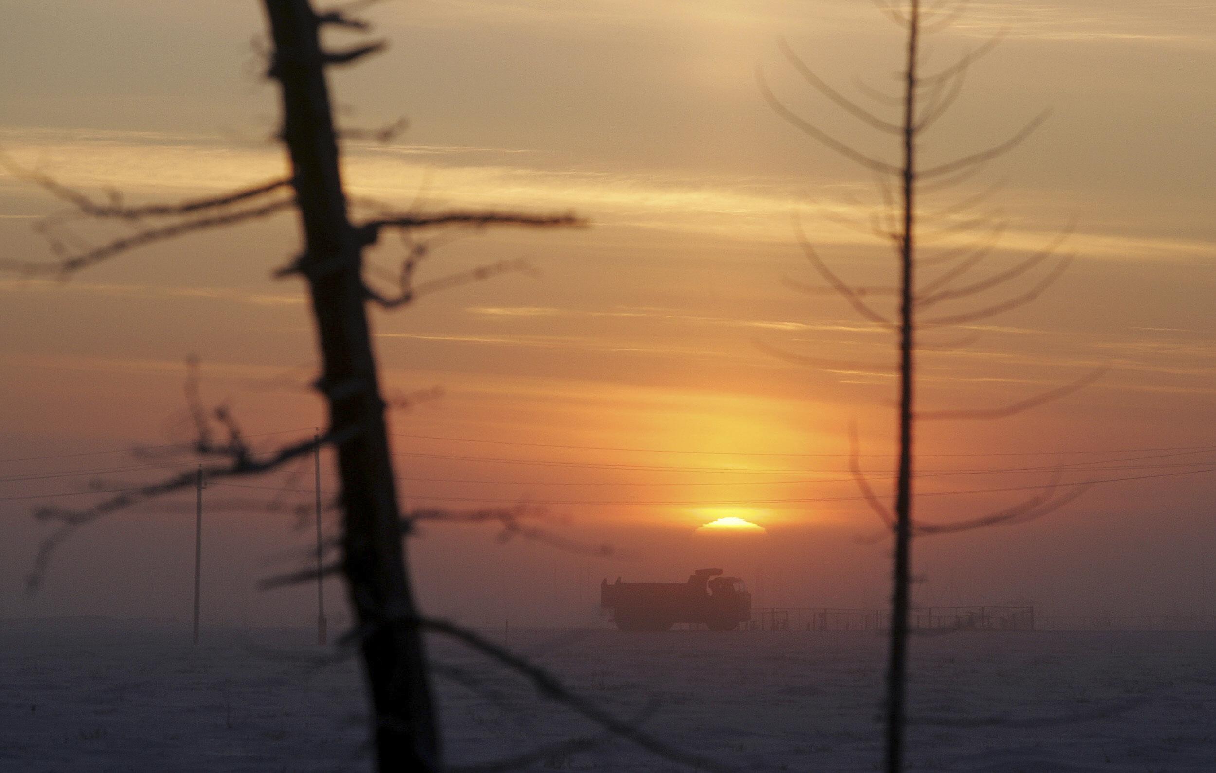 Sibirische Kälte