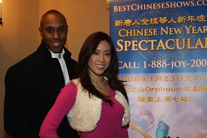 Miss Chinatown U.S.A. beim Chinese Spectacular