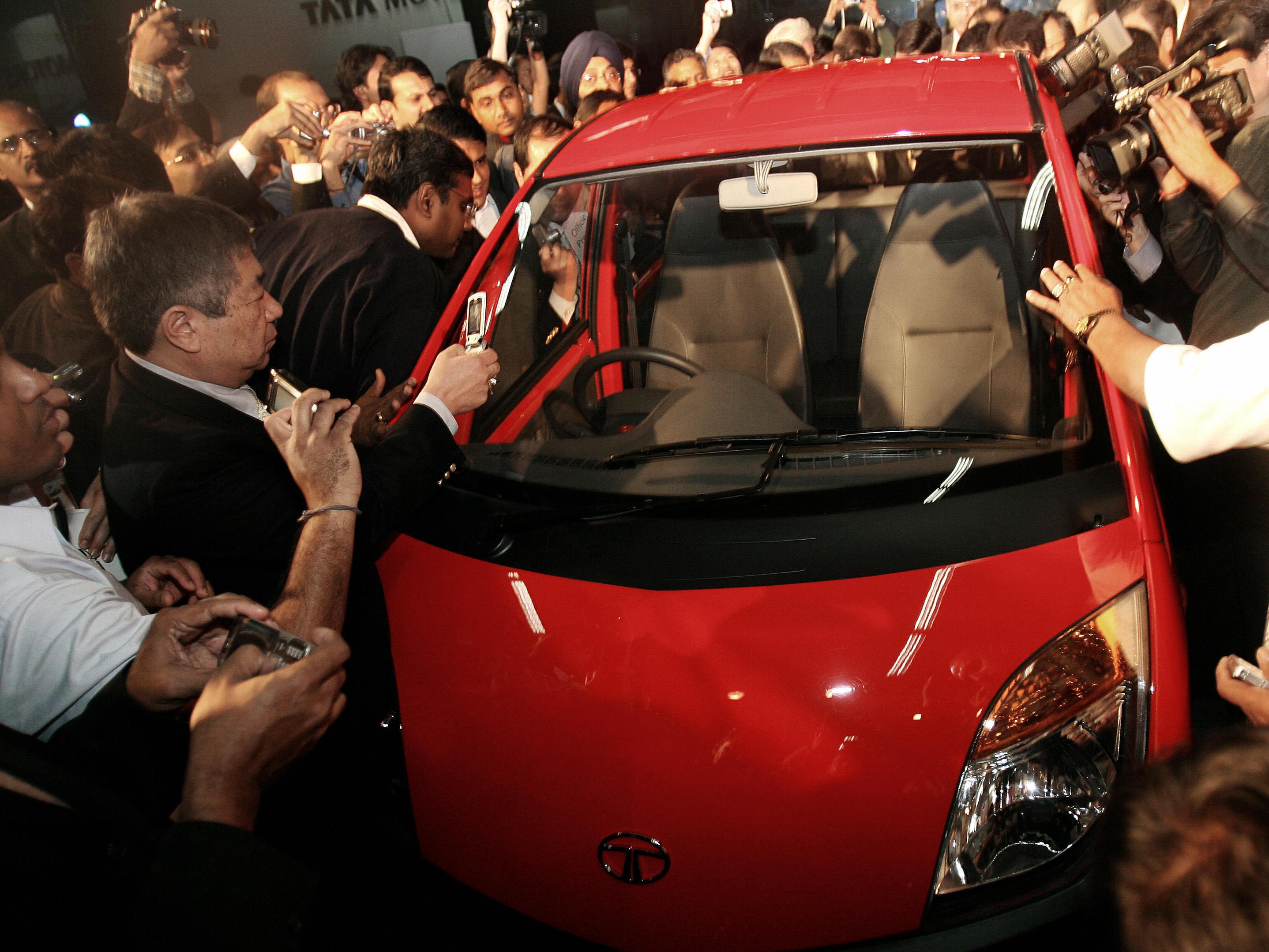 """""""Tata NANO"""": Billigauto wird teuer für die Umwelt"""
