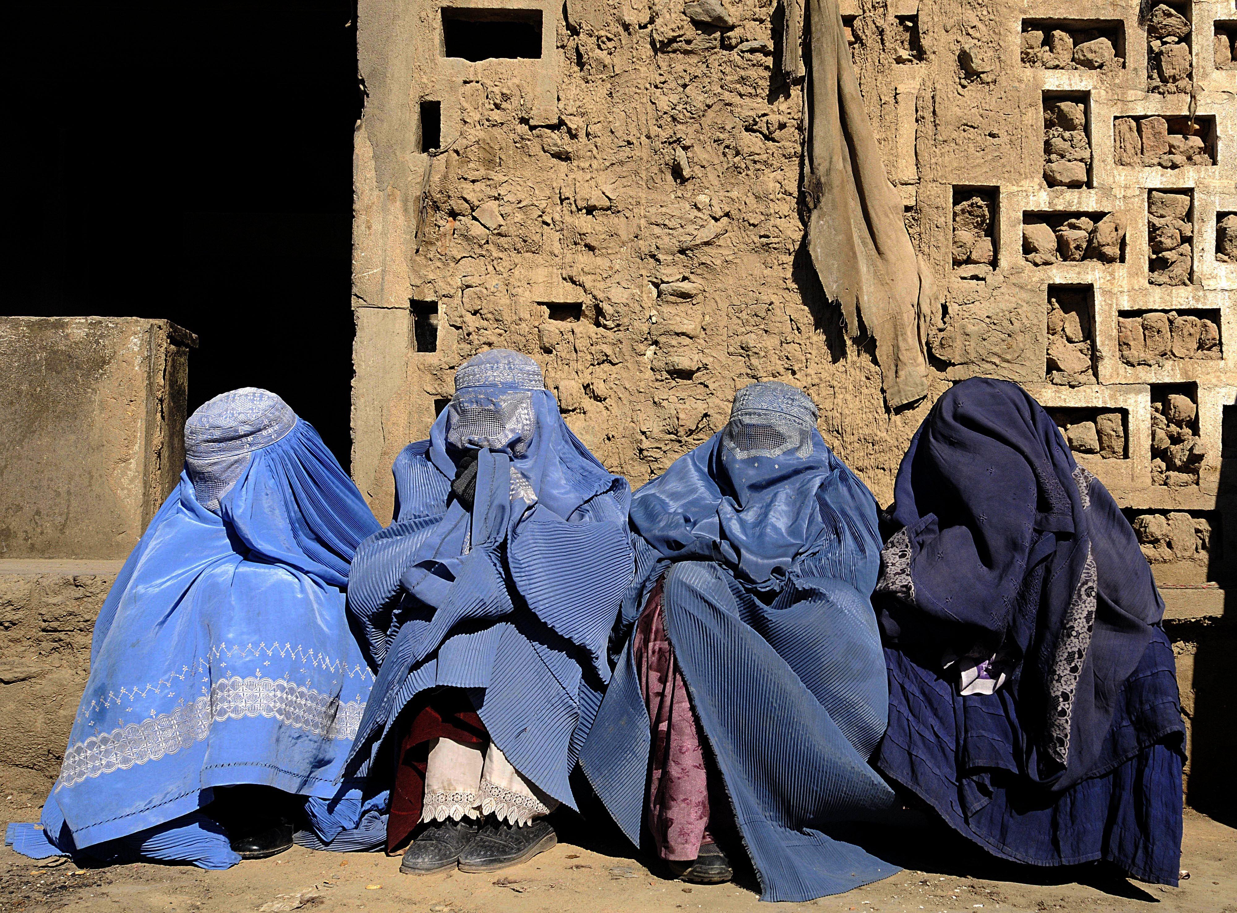Witwen in Kabul