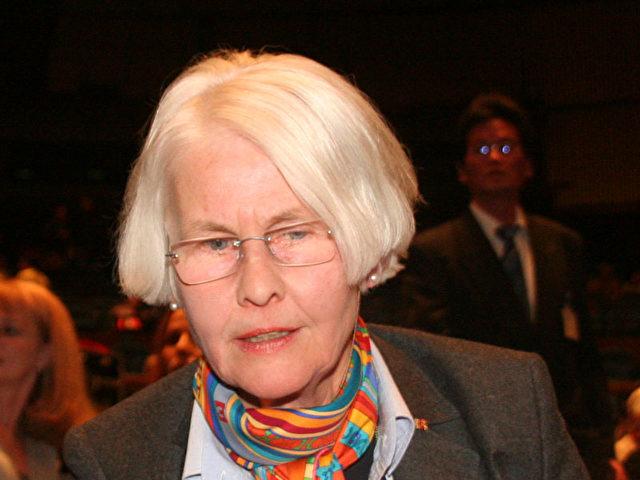 Vorstandsvorsitzende der Internationalen Gesellschaft für Menschenrechte (IGfM), Katrin Bornmüller. (Nina Hamrle/ETD)