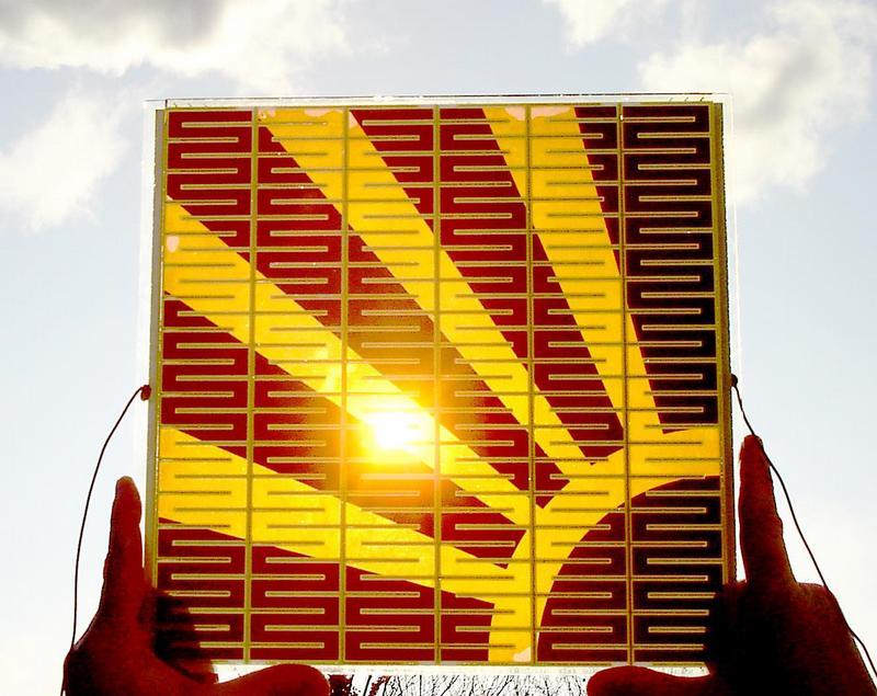 Solarzellen im Siebdruck