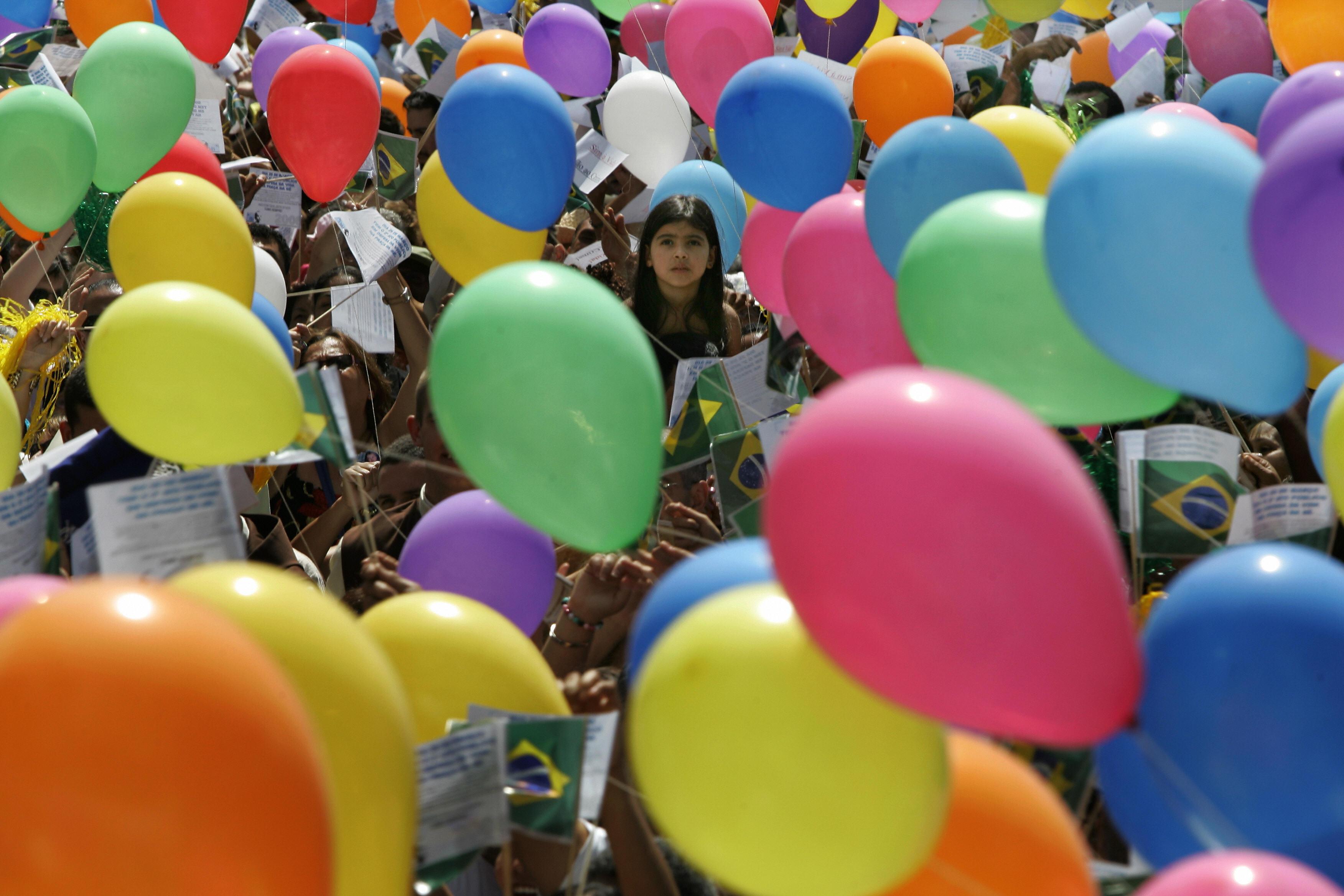 Bunte Luftballons…