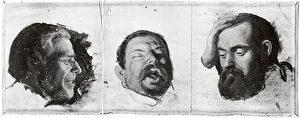 Hermann Kaulbachs Ölskizze mit Dr. Schleiss von Löwenfeld, Ludwig II. und Richard Hornig. (Siegfried Wichmann)