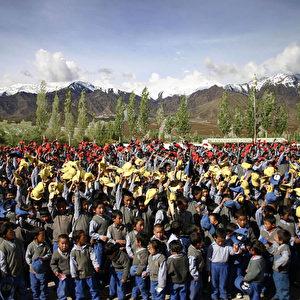 Rund 16.000 Kinder leben in neun tibetischen Kinderdörfern. (Tao Maleta)