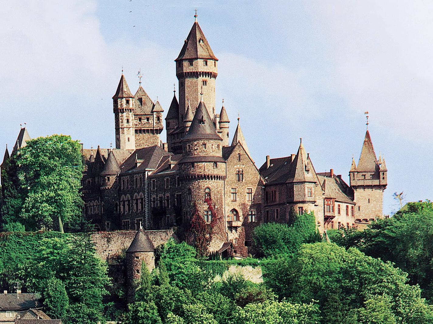 Besuch auf Schloss Braunfels im Taunus