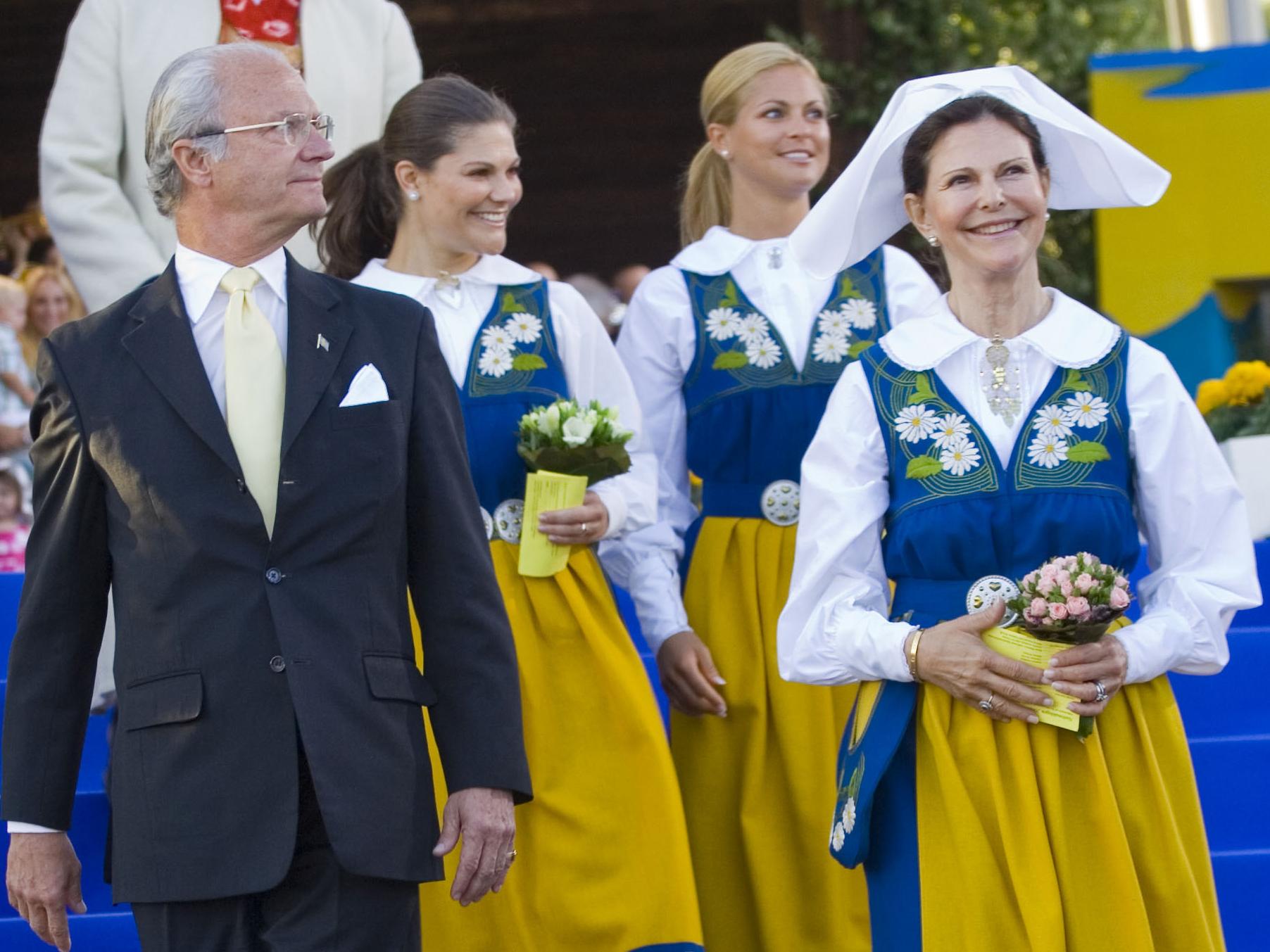 Schweden feiert