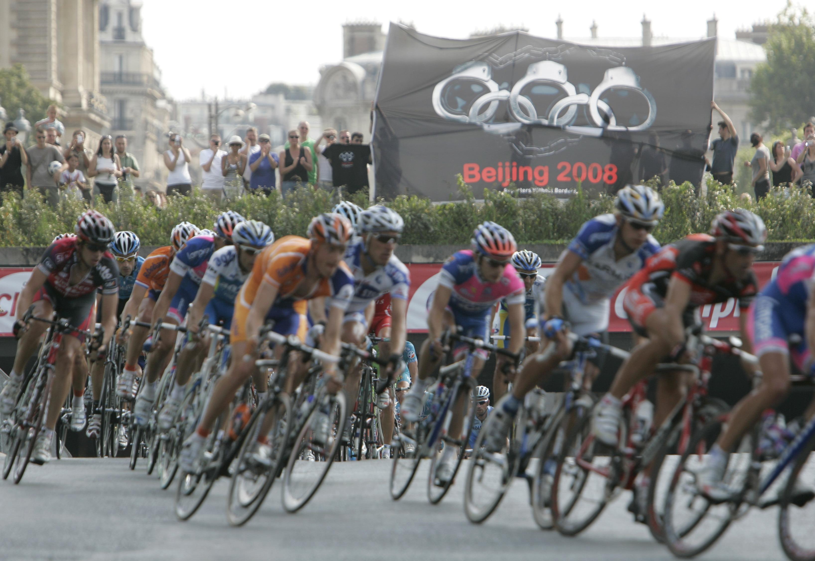 Olympias Handschellen
