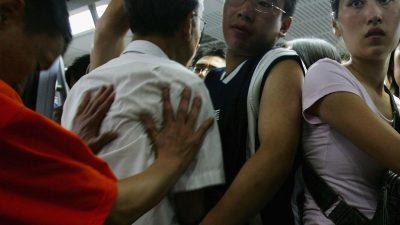Pekings Knigge für den Umgang mit Ausländern