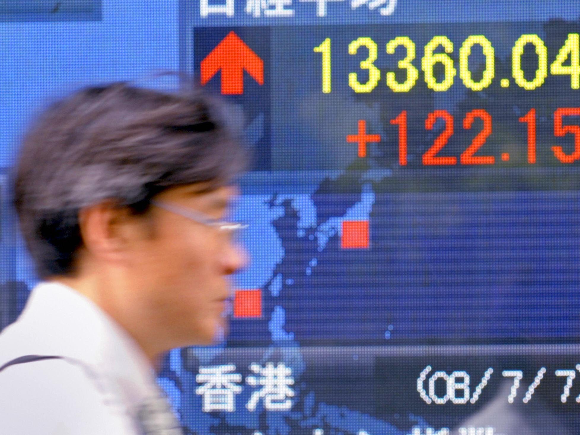 Aktienmarkt in Abwärtsspirale