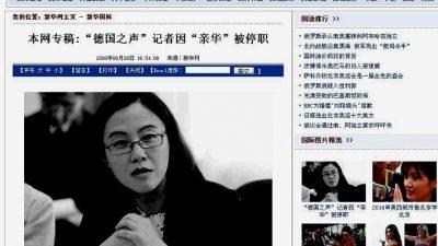 Chinas Xinhua.Net über China-Feindlichkeit und Nazi-Geist deutscher Politiker und Medien