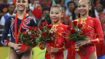 Beweise für das wahre Alter der chinesischen Gold-Mädchen im Internet entfernt
