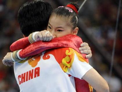 Chinas Gold-Turnerinnen und sportpolitische Interessen