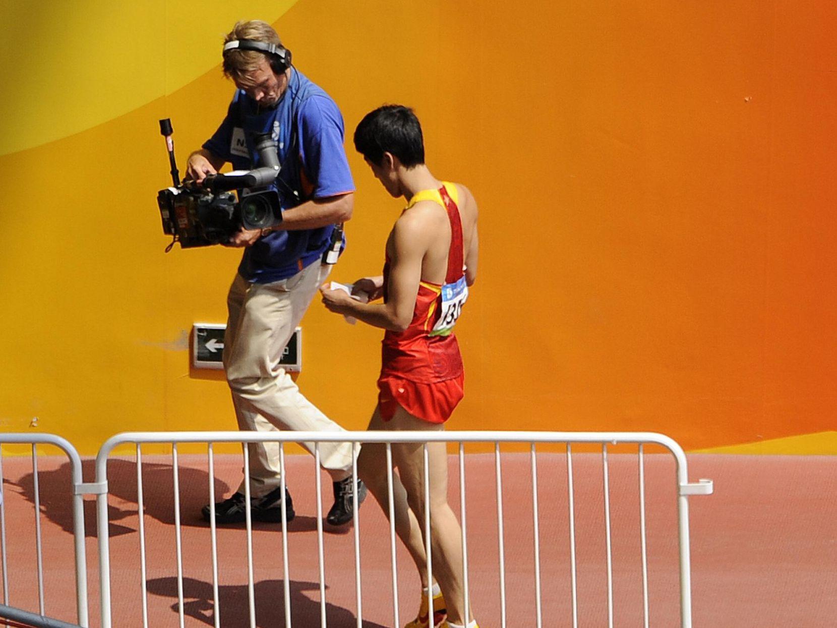 Hürdenläufer Liu Xiang – Opfer der Personenkult-Kampagne