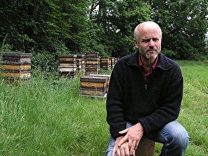Friedmann glaubt, dass seine Bienen ihn kennen. (Josef Jelkic/The Epoch  Times)