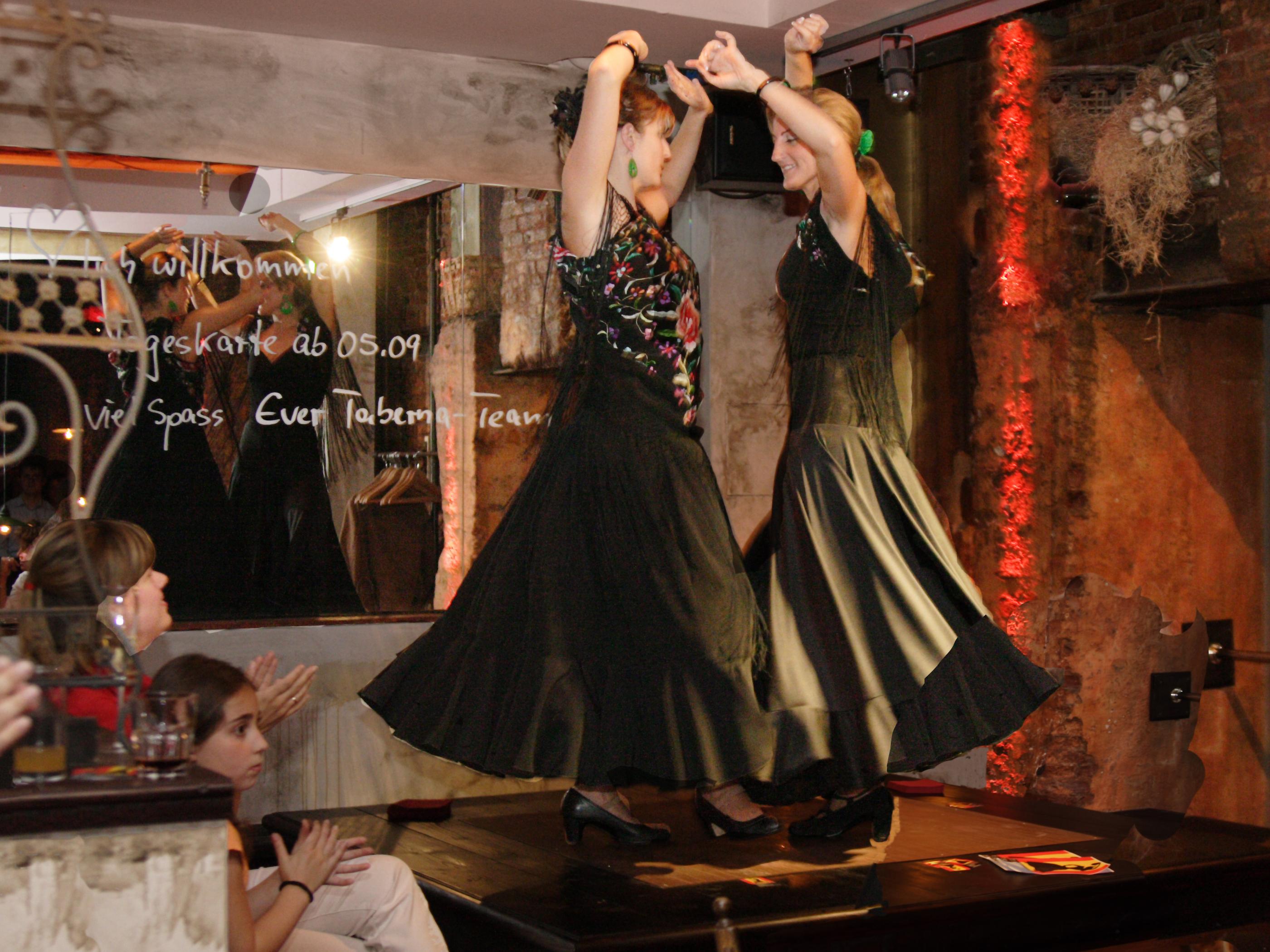 "Eröffnung der ""Taberna Flamenca"""