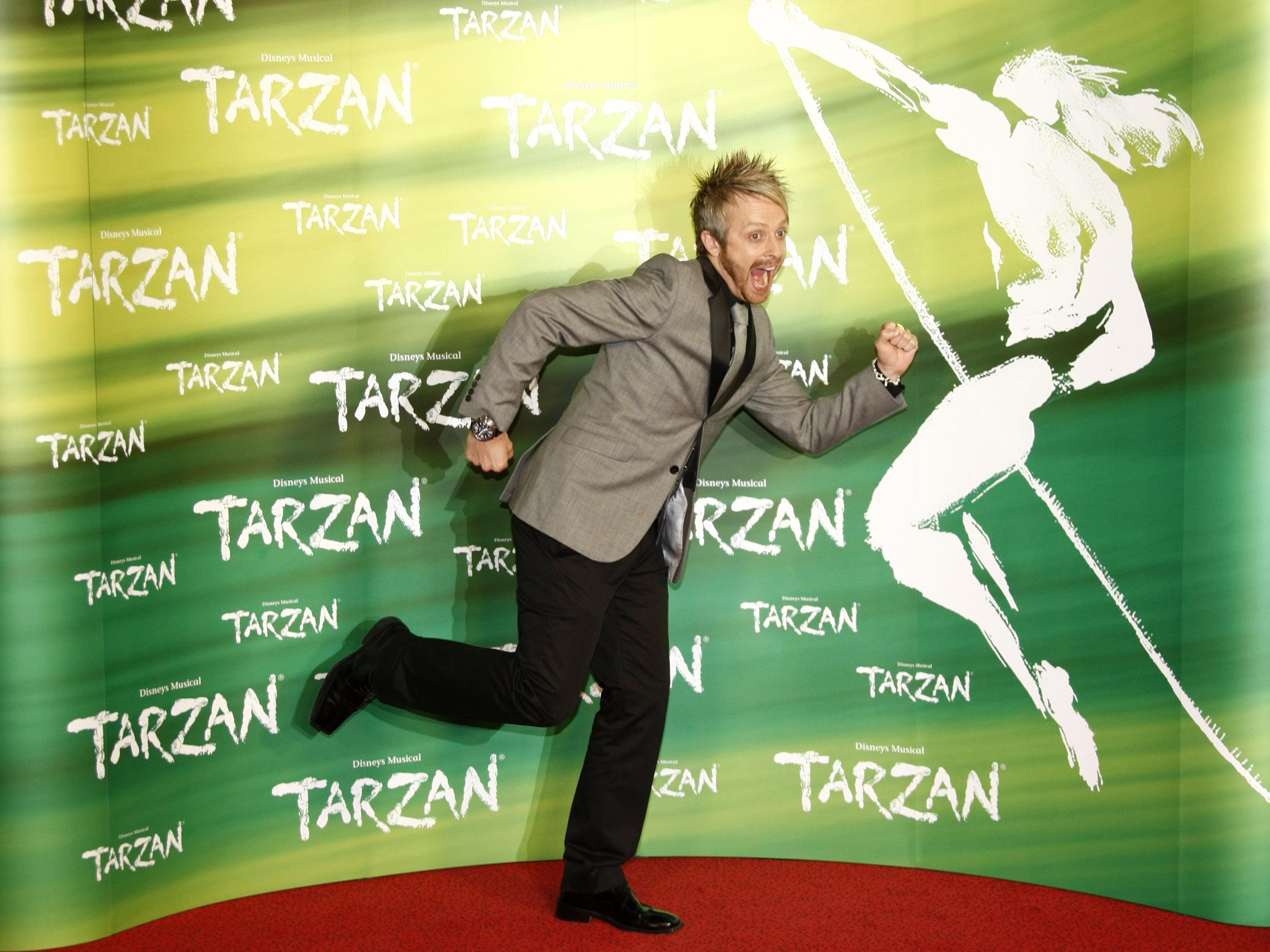 Anlauf für Tarzan!