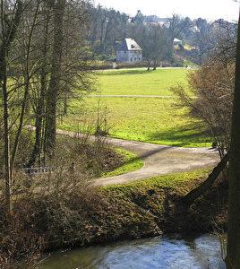 Goethes Gartenhaus im Park an der Ilm, einem der Lieblingsplätze des Dichters. (Joachim Frank)