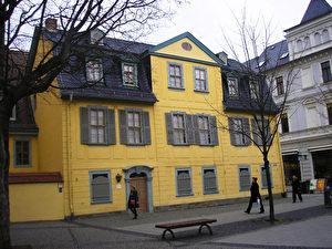 In diesem Haus lebte Schiller drei Jahre lang bis zu seinem Tod 1805. (Joachim Frank)
