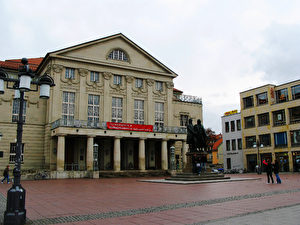 Das Nationaltheater Weimar. (Joachim Frank)