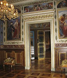 Im Stadtschloss: Prachtvolle Räumlichkeiten bezaubern das Publikum seit der umfassenden Renovierung. (Joachim Frank)