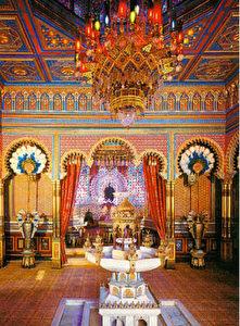 Der Maurische Kiosk von Linderhof, gekauft von Ludwig II. (Siegfried Wichmann)