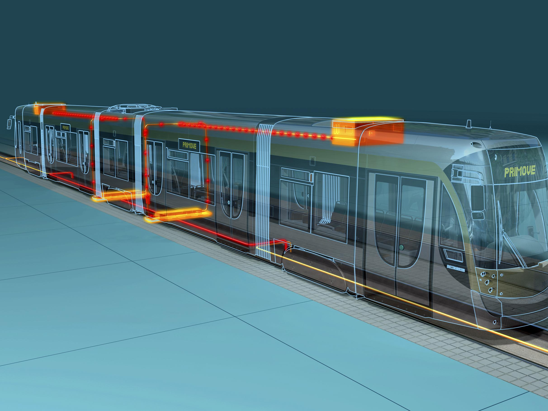 Neues Straßenbahnsystem durch kontaktfreie Energieübertragung