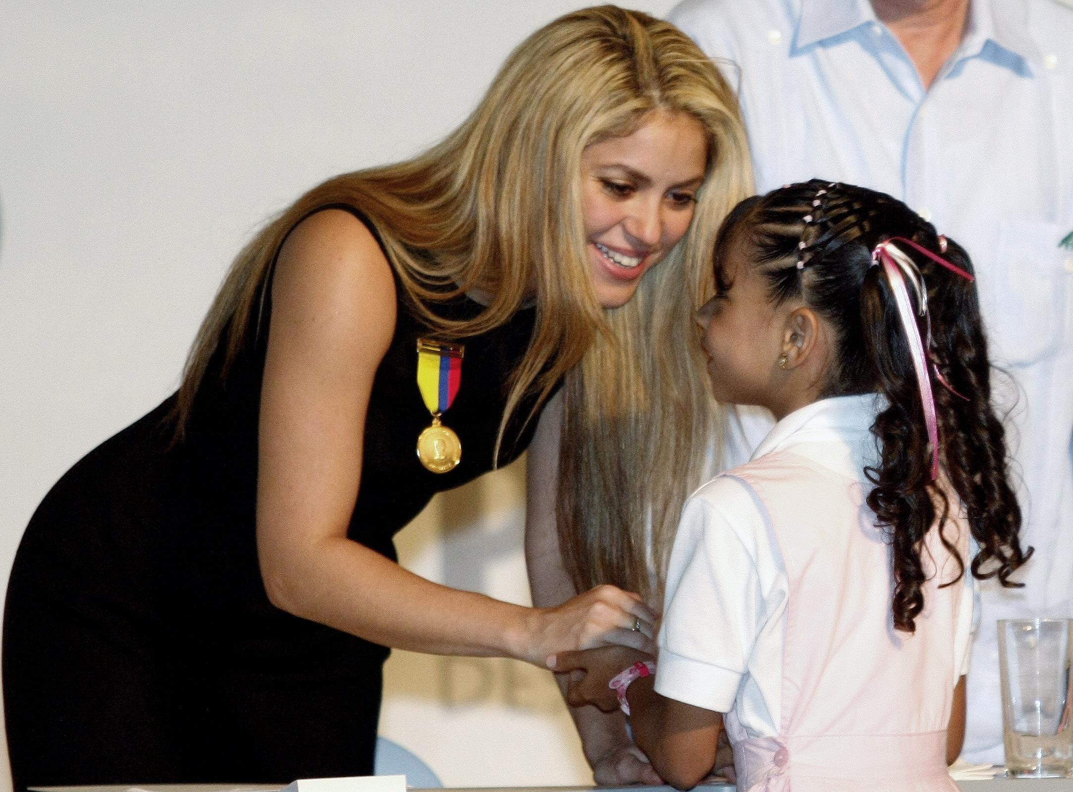 Shakiras Geschenk