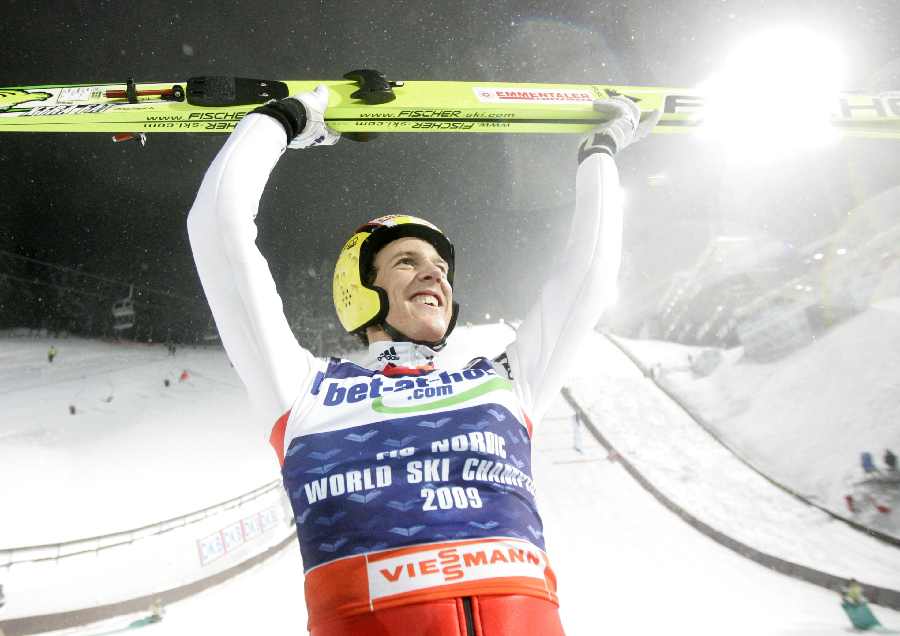 Andreas, der Champion!