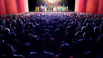 'Diese himmlische Show ist wahre und reine Kunst'