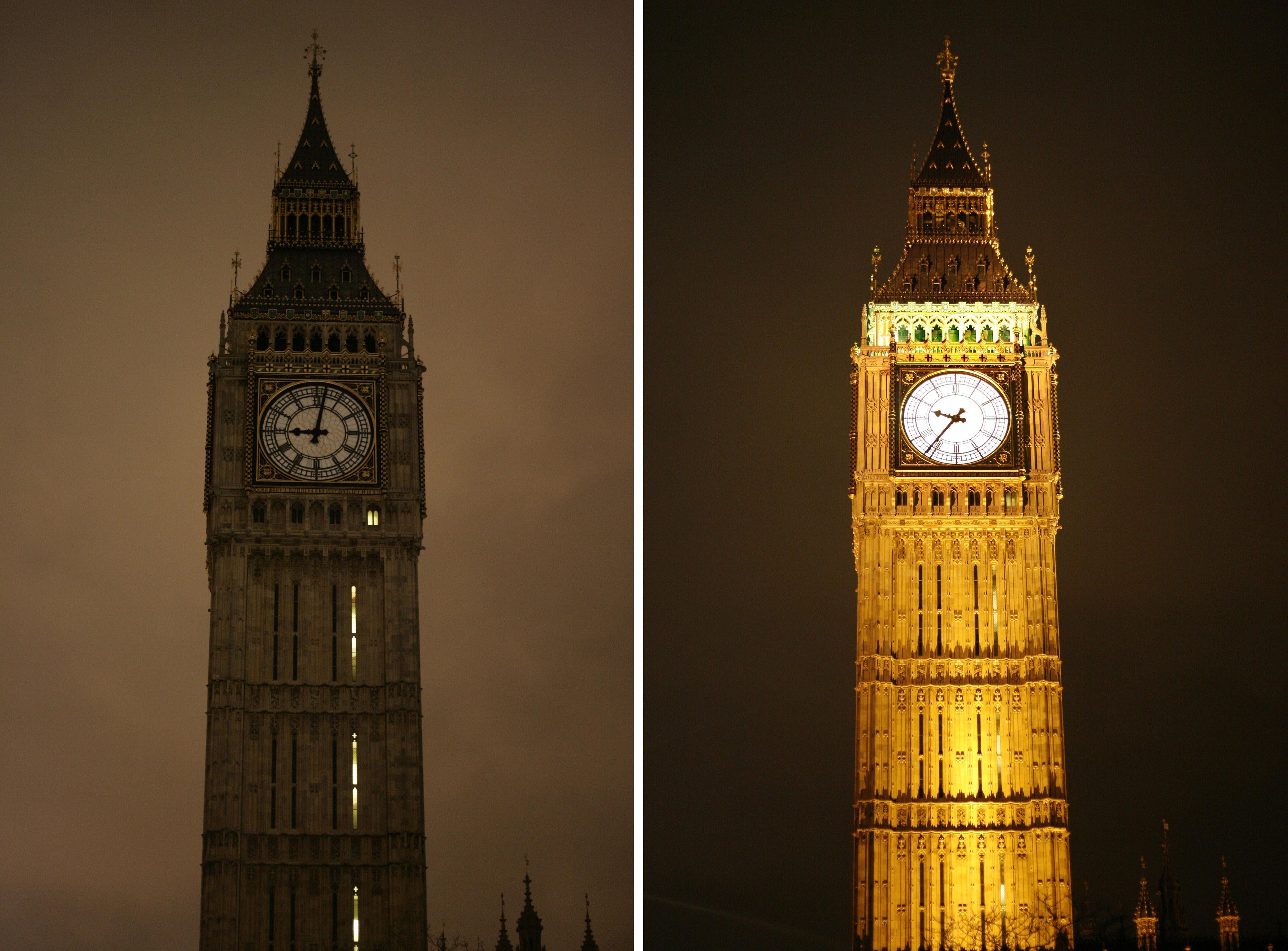 Blick zum Big Ben