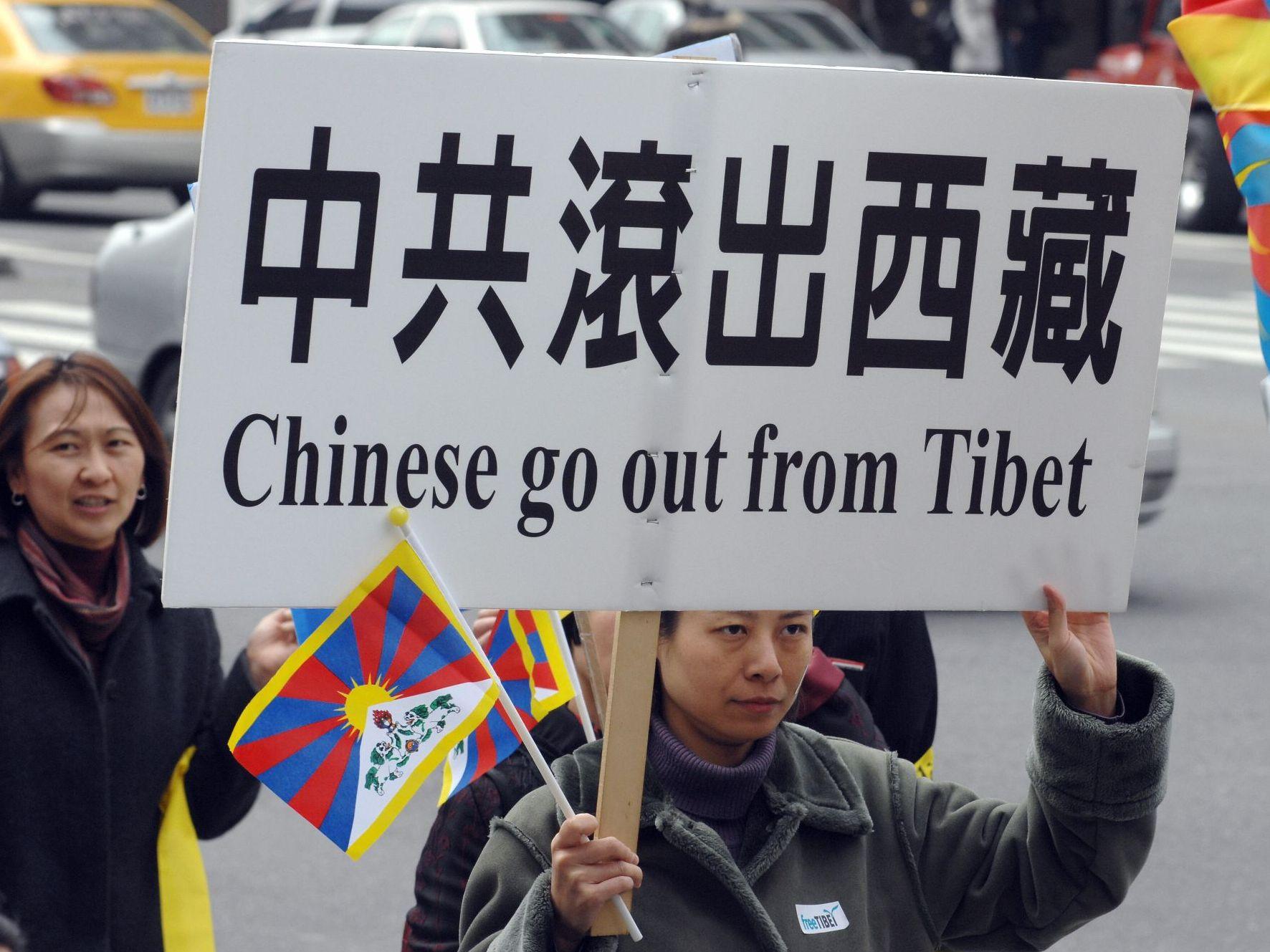 """China lässt in Tibet """"Ende der Sklaverei"""" feiern"""