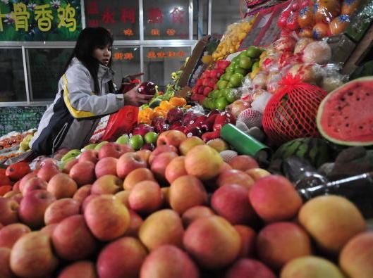 Rückstände von Pestiziden im Gemüse aus China