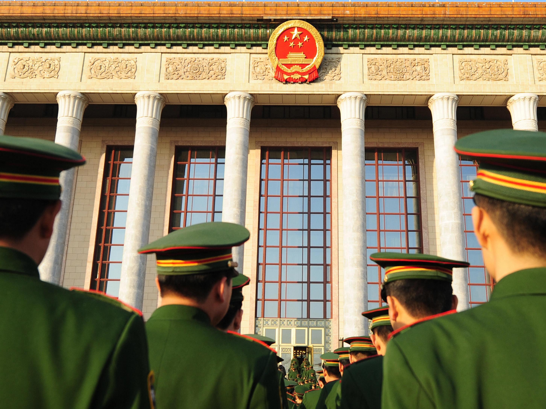 Chinas Veteranen rufen einander auf zum Protest auf dem Tiananmenplatz