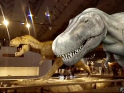 Virtuelle Rückkehr der Dinosaurier begeistert Japan