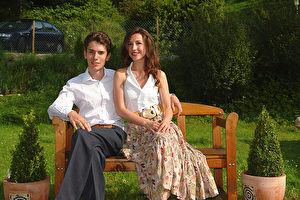 Das Musikerpaar hat sich in der Schweiz kennen gelernt und ist nun im Dörfchen Bischofszell Zuhause. (The Epoch Times)