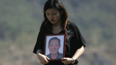Trauer in Taiwan
